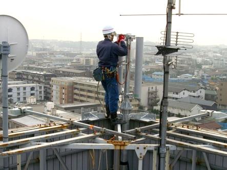 通信設備工事施工